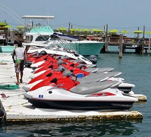 Renting a Jet Ski Myrtle Beach
