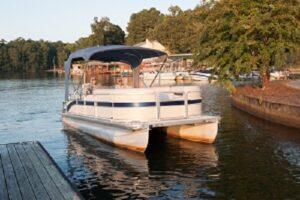 pontoon boat rental
